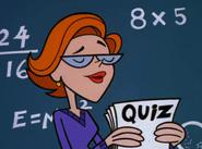 DeeDees Teacher giving pop quiz