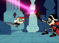 Mandark vs. Dexter in Ego Trip