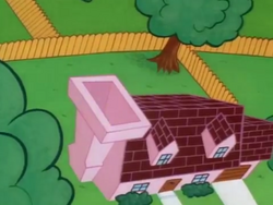 Dexters House view from above from Last But Not Beast episode.png