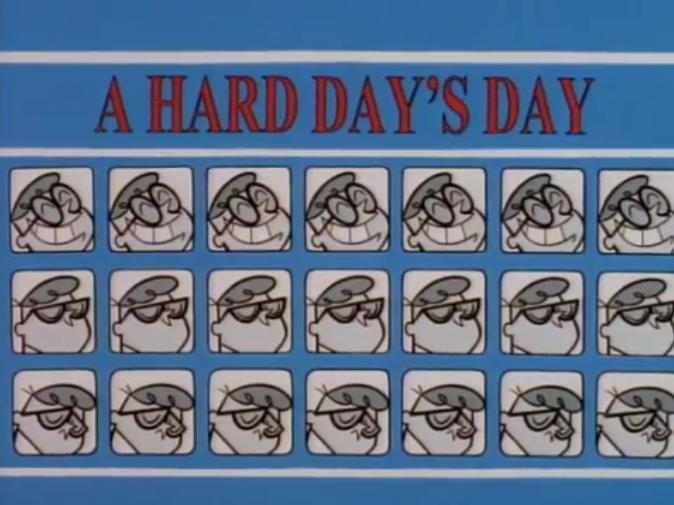 A Hard Day's Day