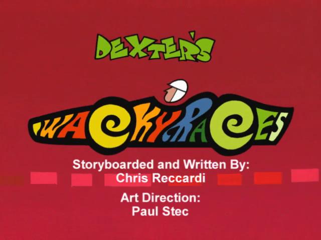 Dexter's Wacky Races
