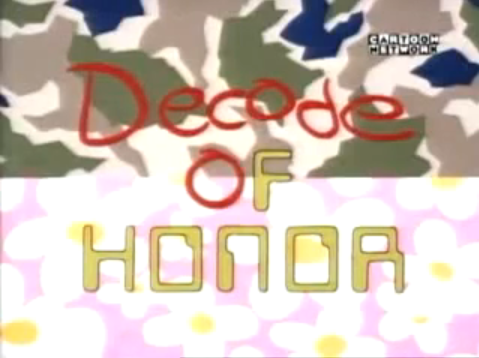 Decode of Honor