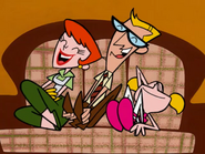 Mom, Dad, and Dee Dee laughing *2*