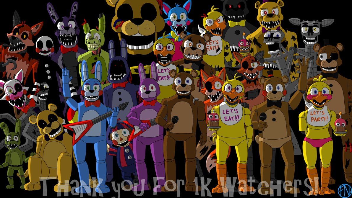 Ask The FNAF Crew V2 (Got deleted earlier for some reason)