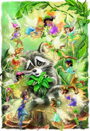 Animal-talents-and-baby-raccoon