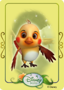 Tinkerbell adventures card - augustus