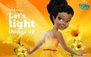 Disney Fairies iridessa Let's light things up