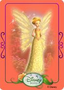 Tinkerbell adventures card - queen clarion 1