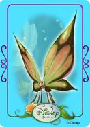 Tinkerbell adventures card - butterfly 2
