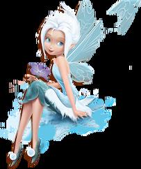 Periwinkle Schneeflocke