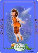 Tinkerbell adventures card - fawn