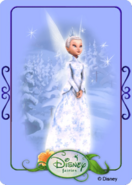 Tinkerbell adventures card - minister of winter 1
