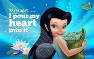 Disney Fairies Silvermist I proud my heart into it
