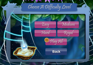 Water Web difficulty levels