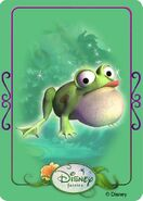 Tinkerbell adventures card - frog