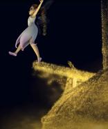 Lyria walks the plank