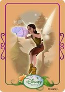 Tinkerbell adventures card - baden