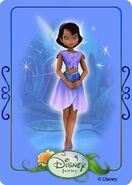 Tinkerbell adventures card - cera