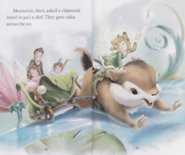 A Fairy Frost Chipmunk