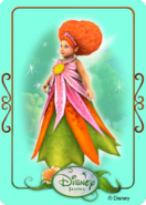 Tinkerbell adventures card - minister of summer 2