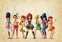 Pirate Fairy group