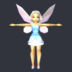 Tinker Bell (DS Game) - Low Poly Model - Qana 1.png