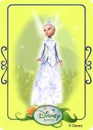 Tinkerbell adventures card - minister of winter 2
