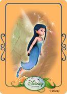 Tinkerbell adventures card - silvermist 1