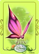 Tinkerbell adventures card - butterfly 1