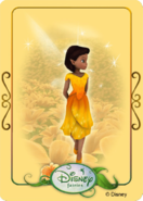 Tinkerbell adventures card - luminaria