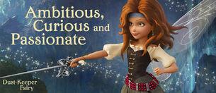 Disney The Pirate Fairy Captain Zarina