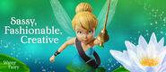 Disney The Pirate Fairy TinkerBell.Sassy,Fashionable,Creative