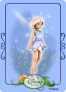 Tinkerbell adventures card - icy