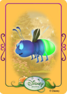 Tinkerbell adventures card - firefly