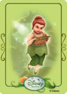 Tinkerbell adventures card - fairy mary