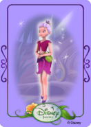 Tinkerbell adventures card - idalia