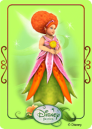 Tinkerbell adventures card - minister of summer 1