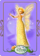 Tinkerbell adventures card - queen clarion 2