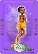 Tinkerbell adventures card - iridessa 1