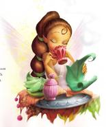 Lyria, drinking Lemongrass Tea
