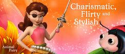 Disney The Pirate Fairy Rosetta.Charismatic,Flirty and Stylish