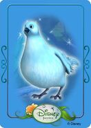 Tinkerbell adventures card - dove