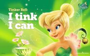 Disney FairiesTinkerBell. I tink I can