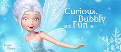 Disney Fairies Periwinkle Frost Fairy.