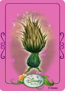 Tinkerbell adventures card - thistle