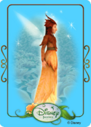 Tinkerbell adventures card - minister of autumn 1