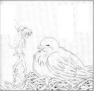 Tinker Bell's Secret (manga) - mother dove