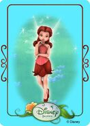 Tinkerbell adventures card - rosetta 1
