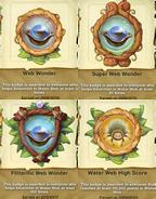 Water Web badges