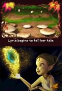 Lyria in the Lost Treasure DS